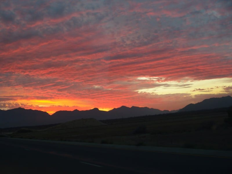 Sunset in Capetown South Africa - Destinations in the World with the Best Sunrises and Sunsets