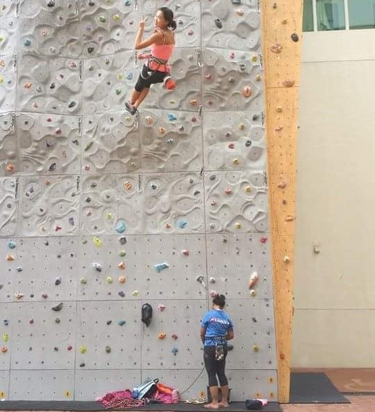 lead climbing at Climb Asia near Farrer Park mrt station| rock gyms in singapore