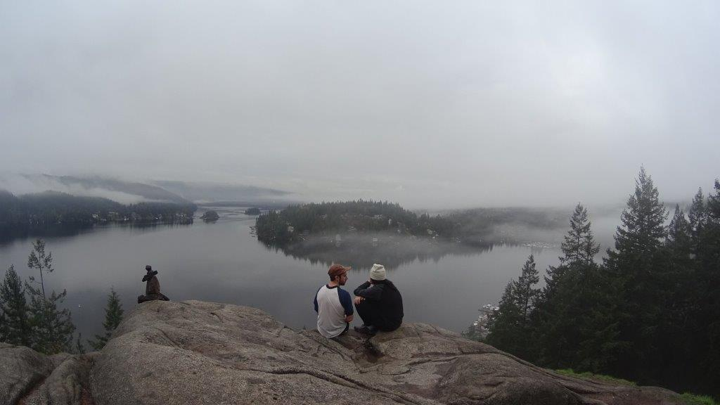 View from the top of Quarry Rock Lookout Point