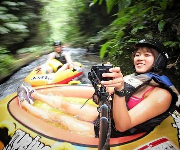 Adventure Streak 1 - Canyoning down the river rapids and get spinned around and soaked up in our tiny little 1 man floats