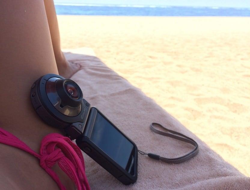 Handy companion to capture your outdoor memories - Casio Exilim FR100