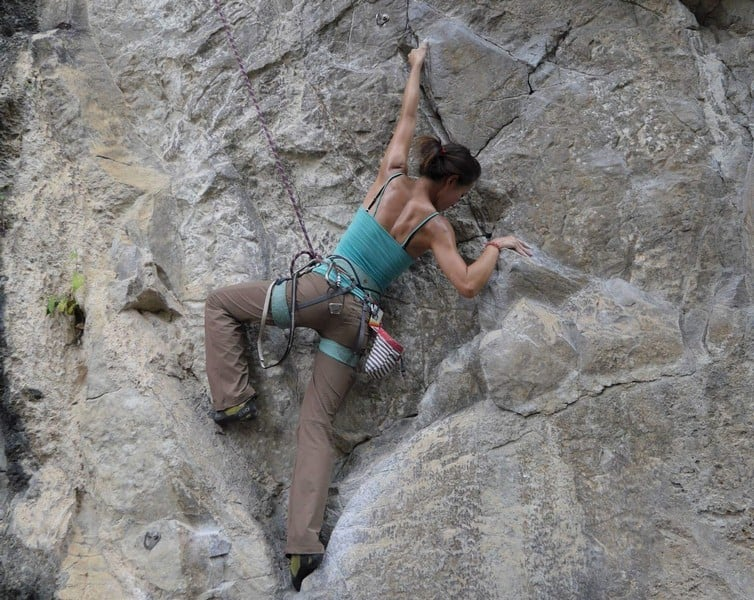 rock climbing pushes you physically and tests your endurance | rock climbing techniques
