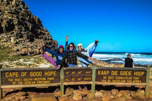 Singapore Women in Travel - Photo was taken at Cape of Good Hope in South Africa