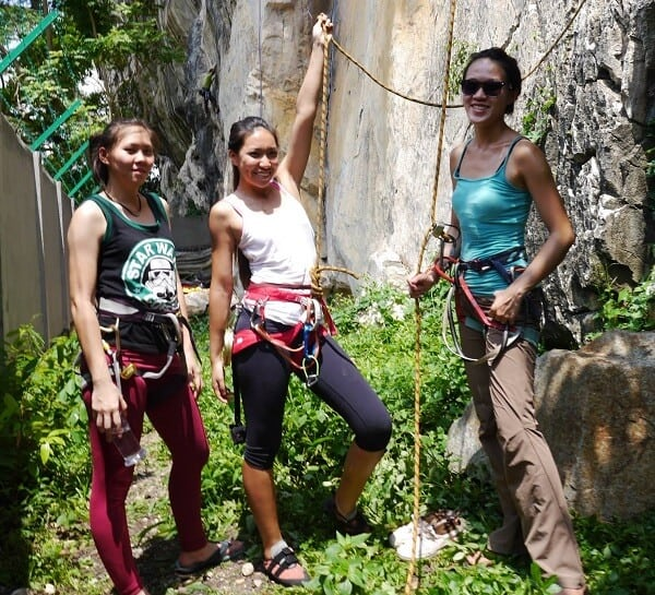 Singaporean women in travel - Batu Caves Kuala Lumpur
