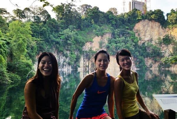 Singapore women in travel - Photo was taken at Bukit Timah Hike in Singapore