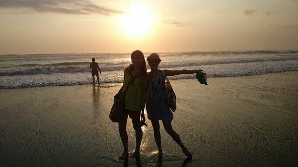 Photo was taken at Kuta Beach in Bali Indonesia.