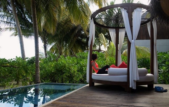 Beach Oasis at W Maldives