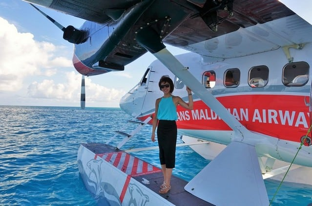 Me and my first seaplane ride