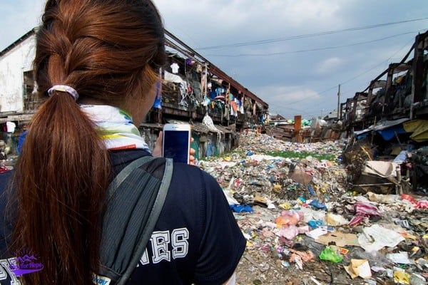 Wanting to help the residents of the slums in philippines