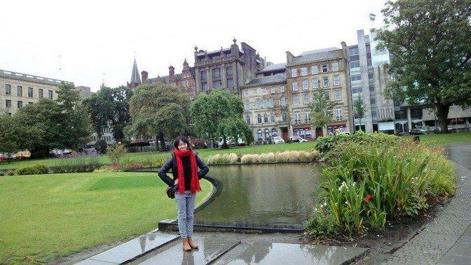 Little town of Edinburgh