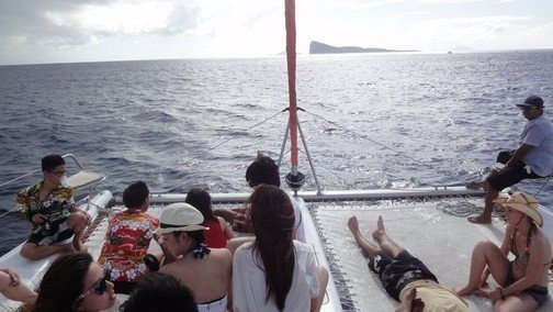 fresh sea breeze in mauritius