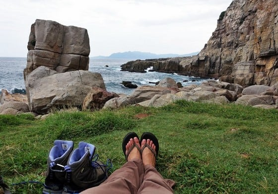 Destination with the Freshest Air | Taiwan rock climbing