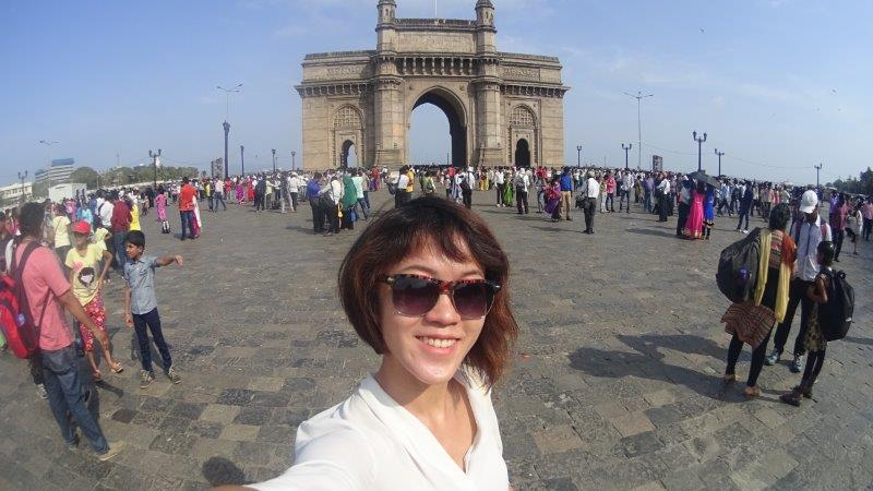 View of the Gateway of India