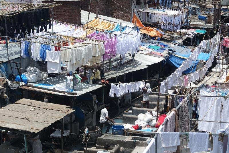 Laundry area in Mumbai