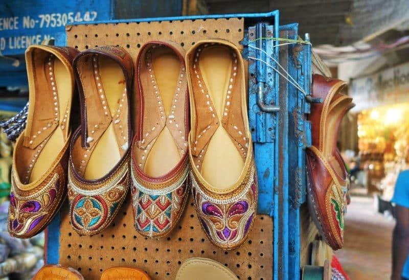 Pretty hand made shoes with pretty designs