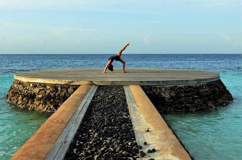 Strike a pose at these iconic coral terrace all around the W Maldives
