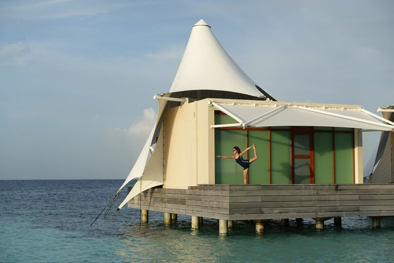 Yoga in Maldives