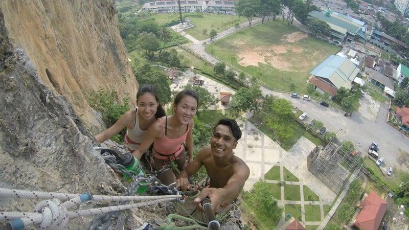 Multi Pitch Point at Batu Caves, Kuala Lumpur