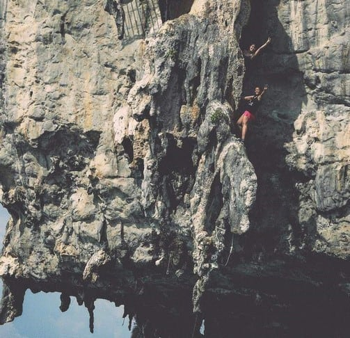 Krabi deep water solo - a must try for adrenaline seekers