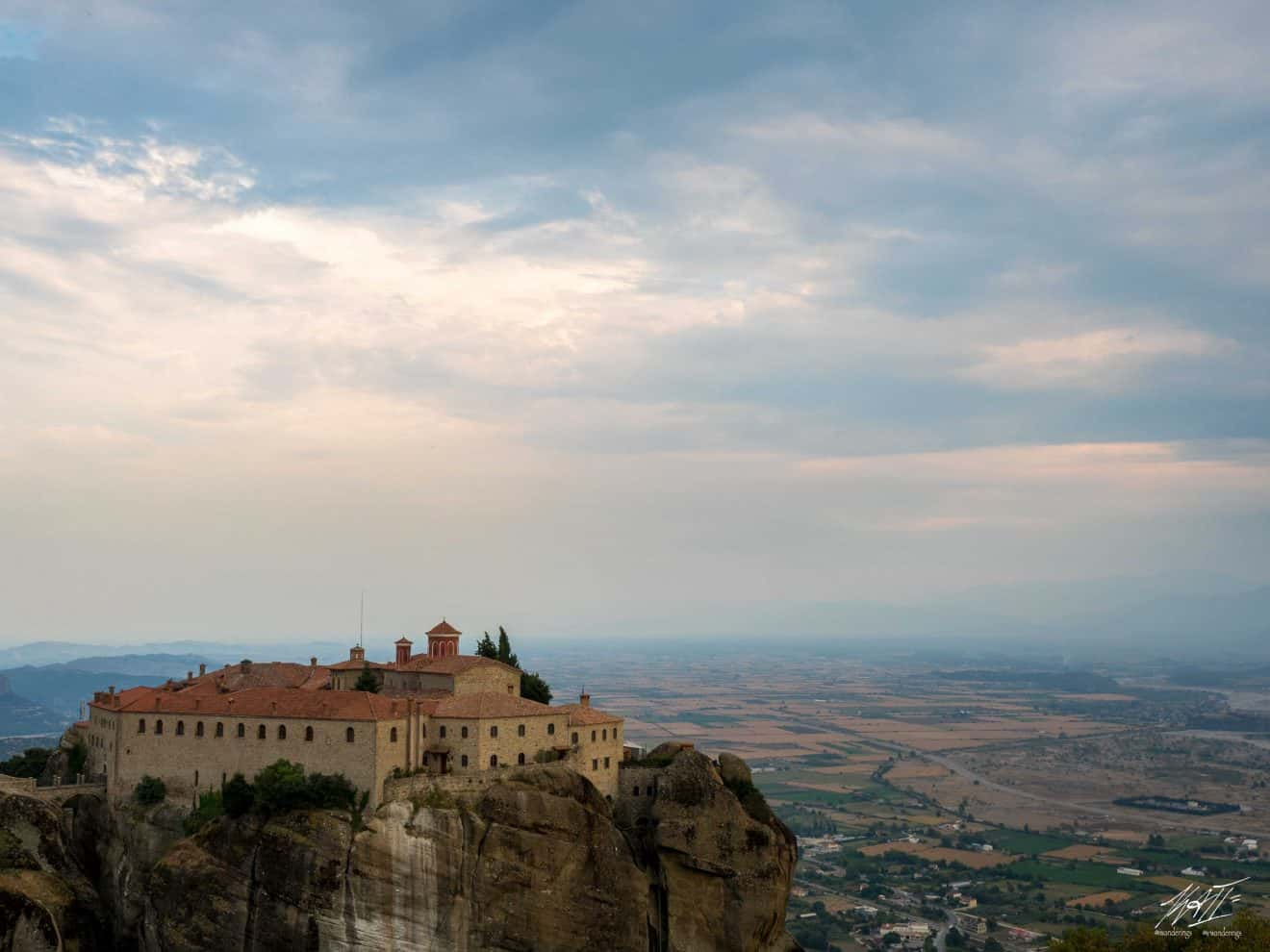 Monastery of St. Stephen is a Nunnery with 28 nuns as of 2015 | Meteora in Greece