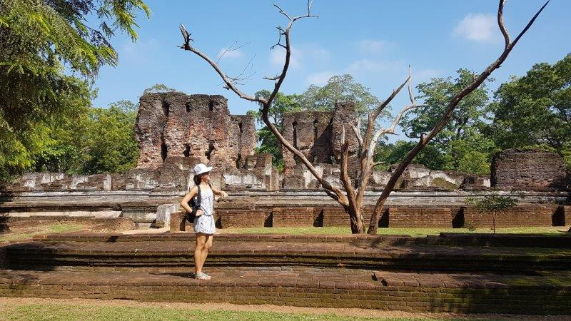 Exploring the Polonnaruwa Ancient City
