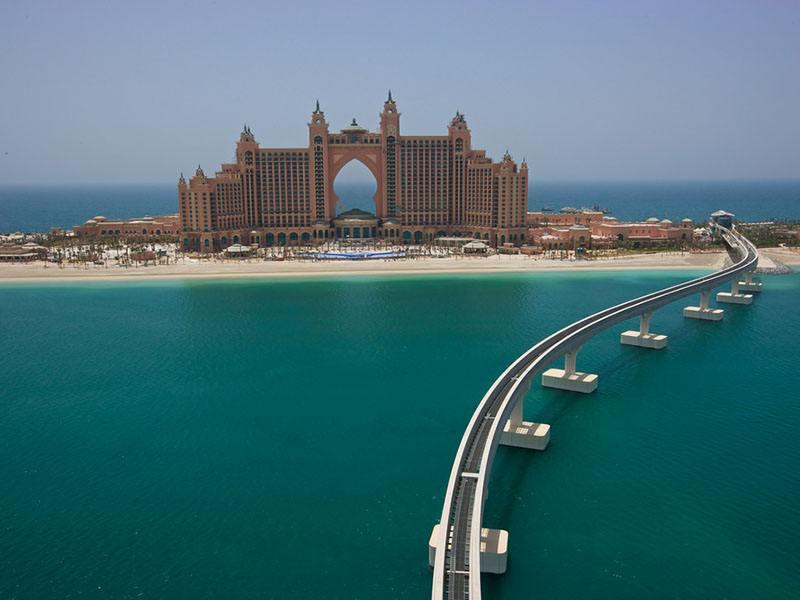 Palm Jumeirah Island Dubai