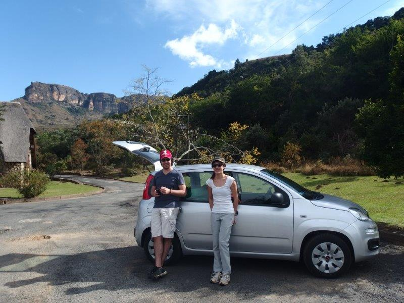 Glamping in South Africa with 3 different cars