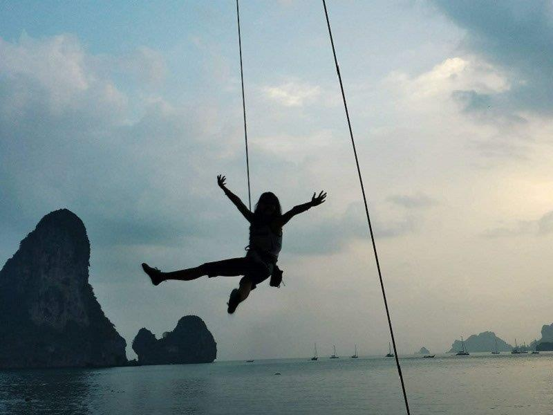 great pleasure and fulfillment derived from climbing